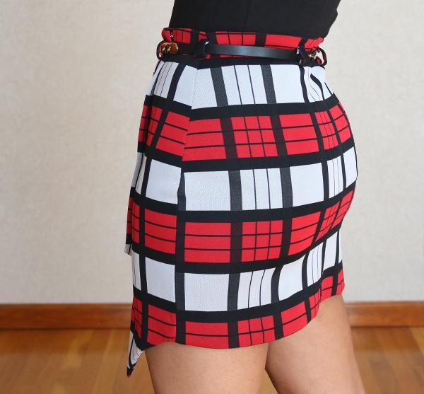 Button Down Maxi Dress Refashion: Asymmetrical Skirt Back