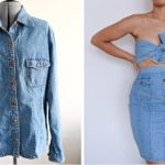 Denim Shirt Refashion: Before & After
