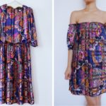 Pleated Paisley Dress Refashion: Before & After