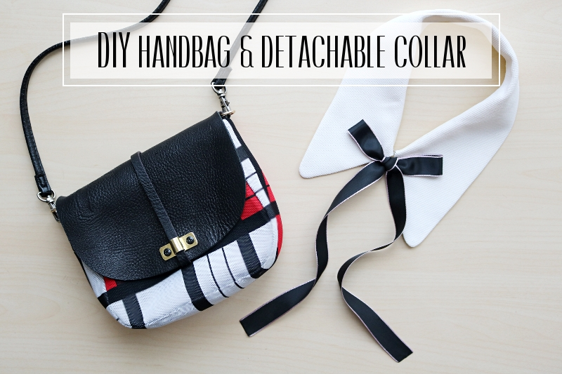 DIY Handbag & Detachable Collar: Makeover