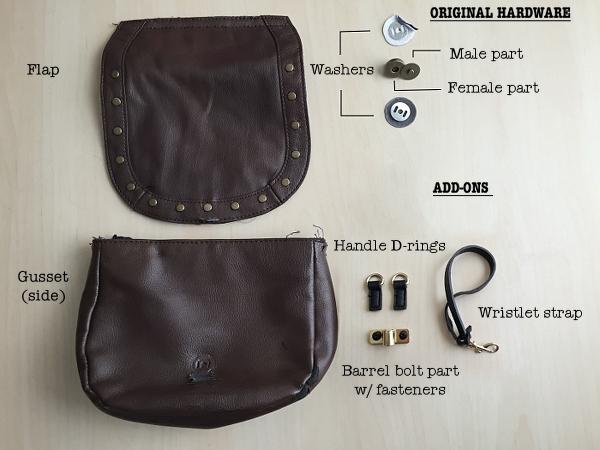 DIY Saddlebag Makeover: Hardware