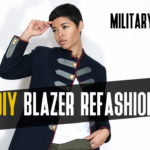 DIY Blazer Refashion Tutorial